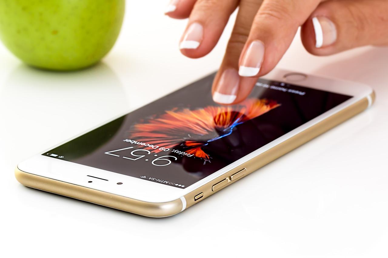 iphoneディスプレイ
