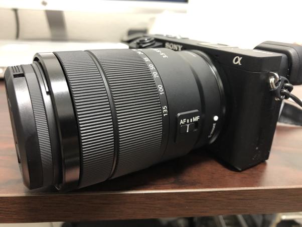 ミラーレスカメラ α6400 レンズ装着