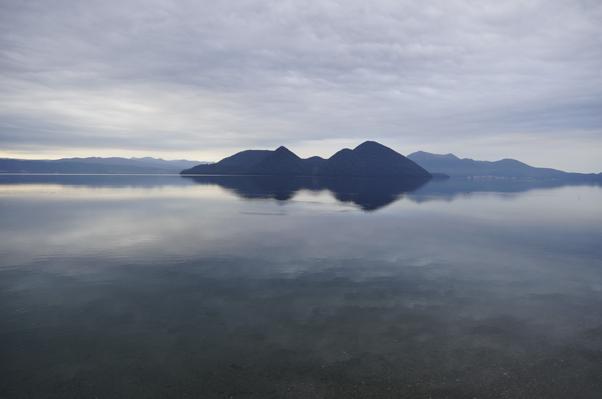 洞爺湖 湖畔
