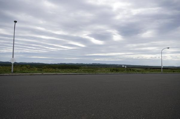 駐車場からの雄大な景色